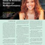 Le projet du deuxième album de Sandrine Gameiro sur My Major Company