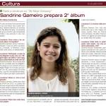Sandrine prepares her second album