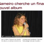 Sandrine Gameiro is looking for funding to finance her new album
