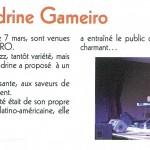 Sandrine Gameiro's concert